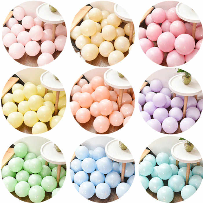 10pcs 12 นิ้วล้างบอลลูน Latex บอลลูน Mariage อาบน้ำเด็กสาวฟอยล์บอลลูนฮีเลียมวันเกิดตกแต่งผู้ใหญ่บอลลูน