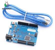 Leonardo R3 Microcontroller Atmega32u4 Development Board With USB Cable Compatible for arduino DIY Starter Kit