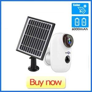 Hiseeu Battery Powered IP Camera with Solar Panel