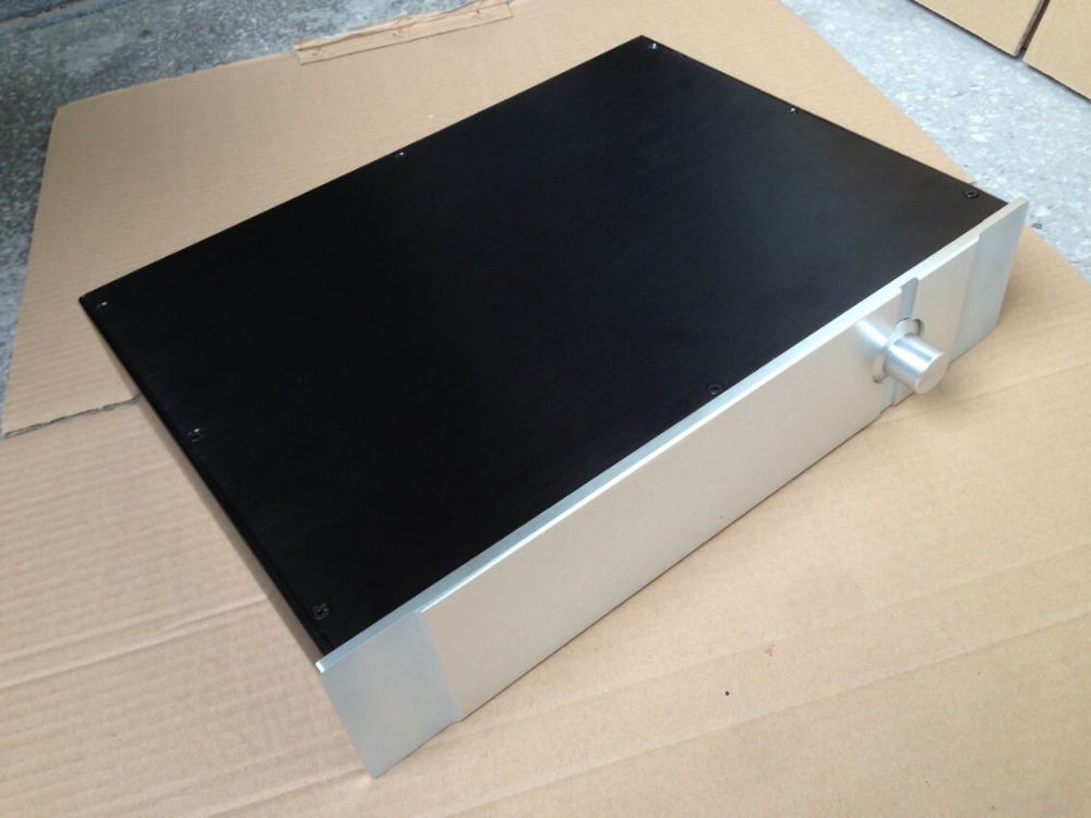 BZ4309H PASS Preamplifier Chassis All Aluminum Amplifier Enclosure DIY Box Preamp Case 430MM*90MM*360MM gaowen g all aluminum enclosure preamplifier chassis diy pre amp case amplifier box 430mm 70mm 308mm