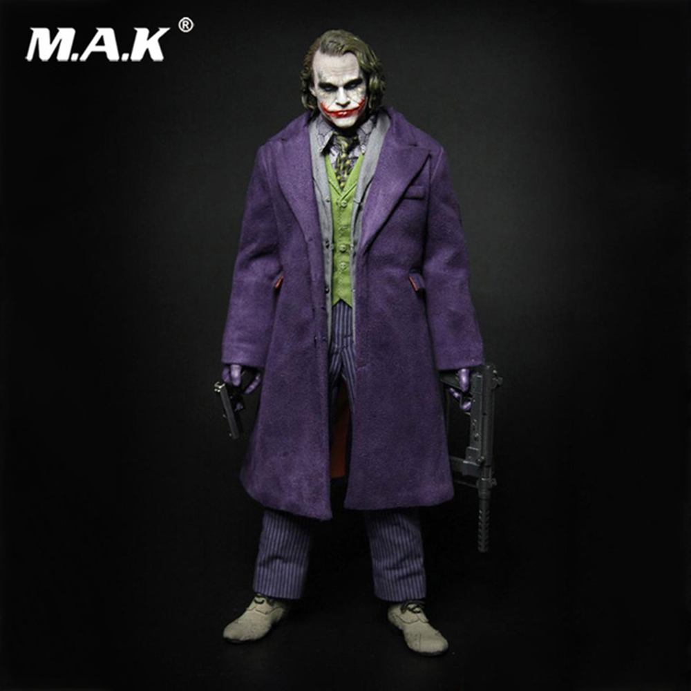 1/6 A001 Batman Joker Model Purple   Coat Version Full Set Action   Figure Toy for Collection with Two   Heads 3d ручка feizerg f 001 purple
