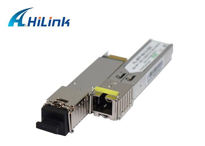 Free Shipping Single Fiber 100Mbps WDM Module 155M 1310nm 1550nm 20km DOM BiDi SFP Transceiver