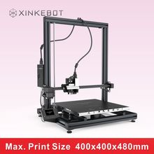 XINKEBOT 2016 Launched Wide Welcome Big Size 3D Printer ORCA2 Cygnus LCD Managing Display Flat Hotbed
