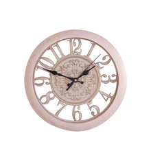 Artistic Silent Retro Wooden Wall Clock