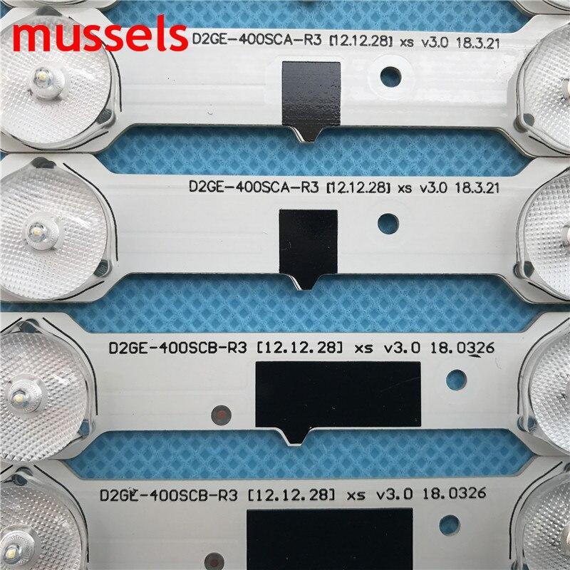 "For SamSung 40"" TV LED Backlight strip 13 lamp D2GE-400SCA-R3 UA40F5500 2013SVS40F UE40F6400 D2GE-400SCB-R3 UE40F5000 UE40F5700"