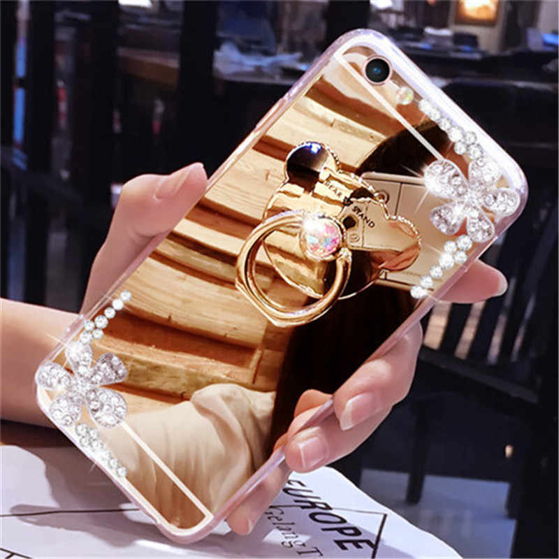LaMaDiaa Luxury Mirror Case Cover For xiaomi Redmi 4 4X 4A 5A 5 plus 6A Note 3 4 4X 5 5 MIX2 2S MAX 2 5 5S plus 5C 5X 6 Case