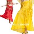 Танец живота юбка индийский танец юбка танца юбка танец живота одежды костюм платье 7 цветов