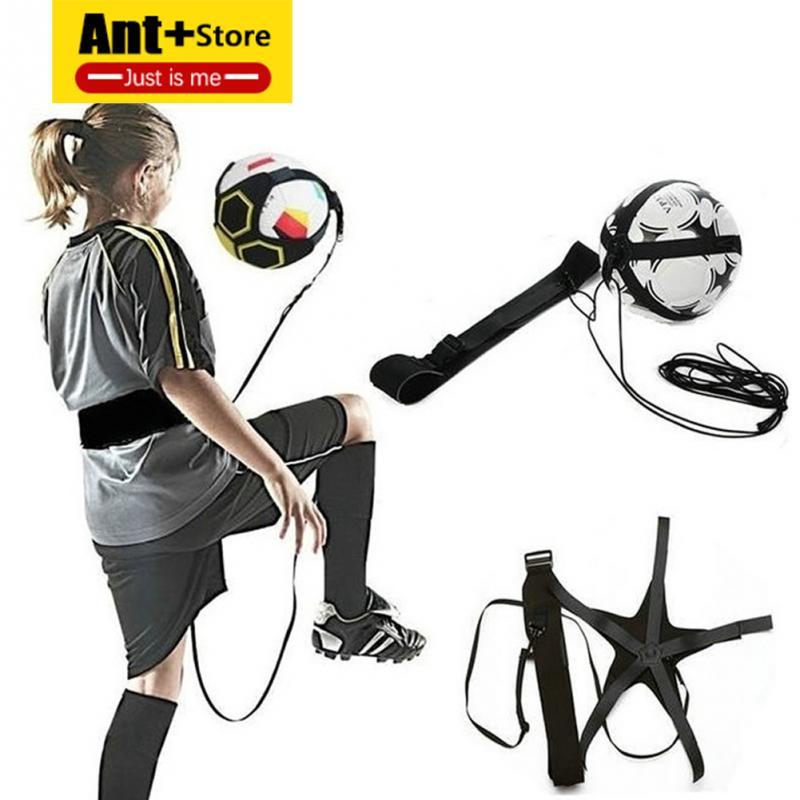 Soccer Training Sports Assistance Adjustable Football Trainer Soccer Ball Practice Belt Football Training Equipment Kick