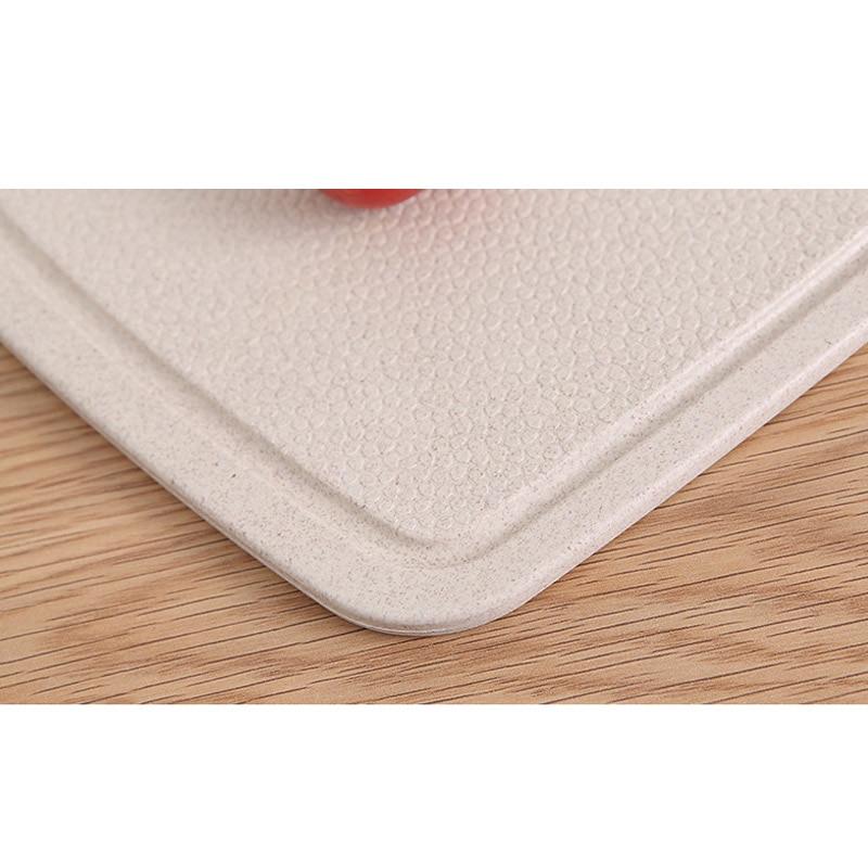 Kitchen Fruit Vegetable Chopping Board Chopping Blocks Anti-skid Moldproof Antibiotic Wheat Cutting Board