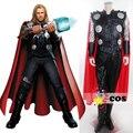 Trajes de halloween para mulheres adultas dos homens Do filme The Avengers The Avengers Thor Odinson trajes cosplay adulto custom made