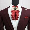 Новый Бесплатная Доставка моды случайные мужские мужской Британский бизнес платье воротник Бабочка Свадьбы жених жениха мульти галстук на продажу