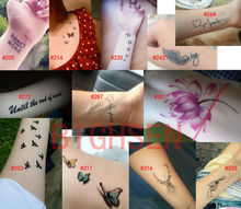 Adhisive проектирует tatto красные вставить краска поддельные поставки рука цветы корпус