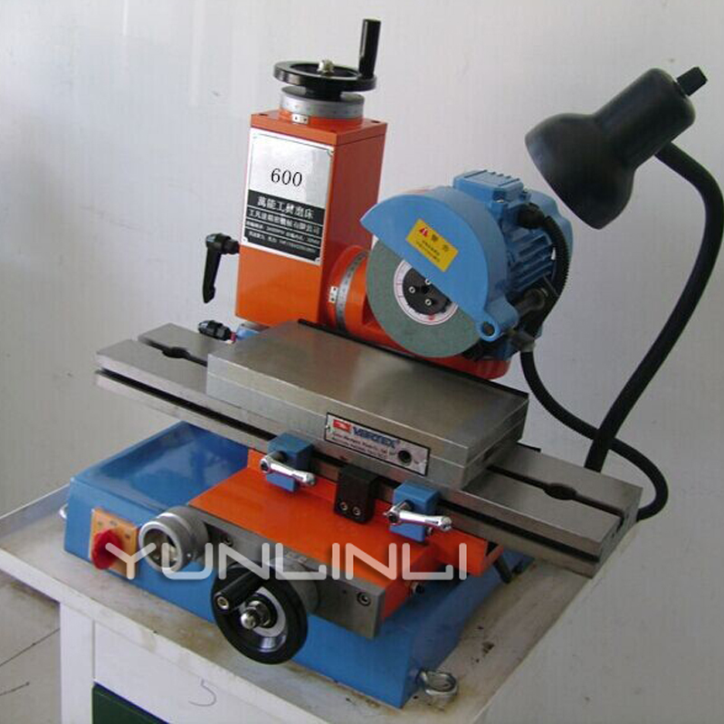 Surface Grinding Machine 220V Universal Tool Grinder End Mill Sharpener with 130*520mm Table Area 600 type