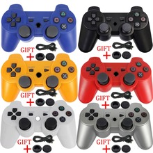 Blueloong New for PlayStation 3 Game Controller for DUALSHOCK 3 SIXAXIS for SONY PS3 Controller Wireless Bluetooth Joysticks
