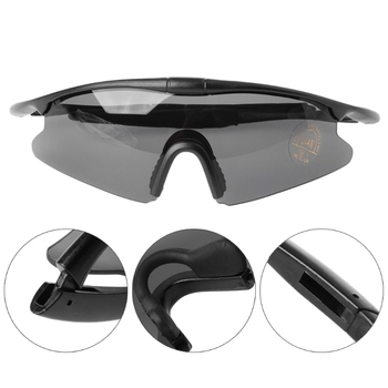 Men Women Riding Goggles Tactical Glasses Hunting Military Sport UV400 Sunglasses + Sunglasses Bag Sunglasses box okulary wojskowe