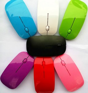 Image 4 - Ultra Fina 2.4 GHz Wireless Optical Mouse PC Ratos Do Computador com Adaptador USB Mause para todos computador laptop Mouse Sem Fio