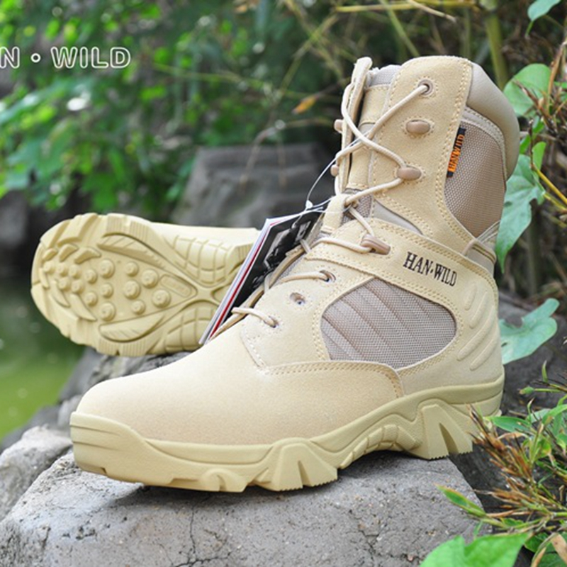 2017 Military Army Boots special forces tactical desert combat boots outdoor shoes army boots Desert tactical Boots combat boots desert tan lug sole military boots page 4