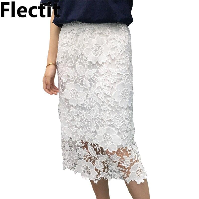 Online Get Cheap White Midi Lace Pencil Skirt -Aliexpress.com ...