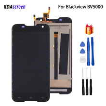 Original For Blackview BV5000 LCD Display Touch Screen Assembly Digitizer For Blackview BV5000 5.0 inch HD Screen LCD Display цена