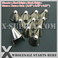 Punk DIY English UK 77 Round Cone Stud in Silver Color with 2 Prongs (Over 20Lots Will Get 44% Off)