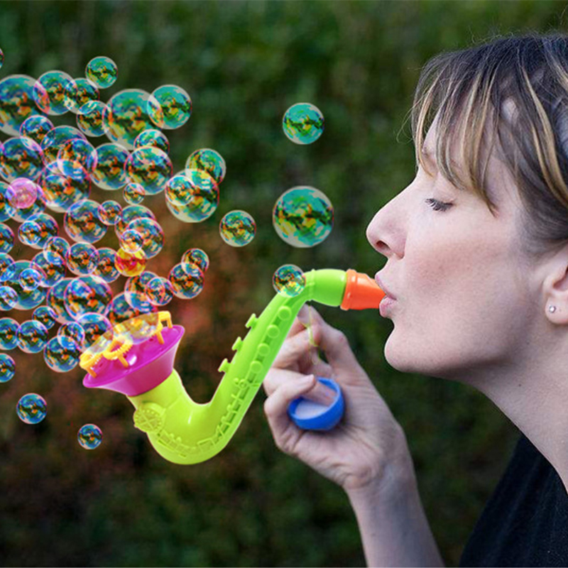 High Qualitity Water Blowing Toys Bubble Gun Soap Bubble Blower Outdoor