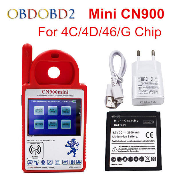 Newest Mini CN900 V518 Auto Key Programmer CN900 MINI Update Online