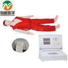BIX/CPR480 Advanced Adult Full Body Electronic CPR Manikin Multifunctional First-Aid CPR Manikin Medical Model W006