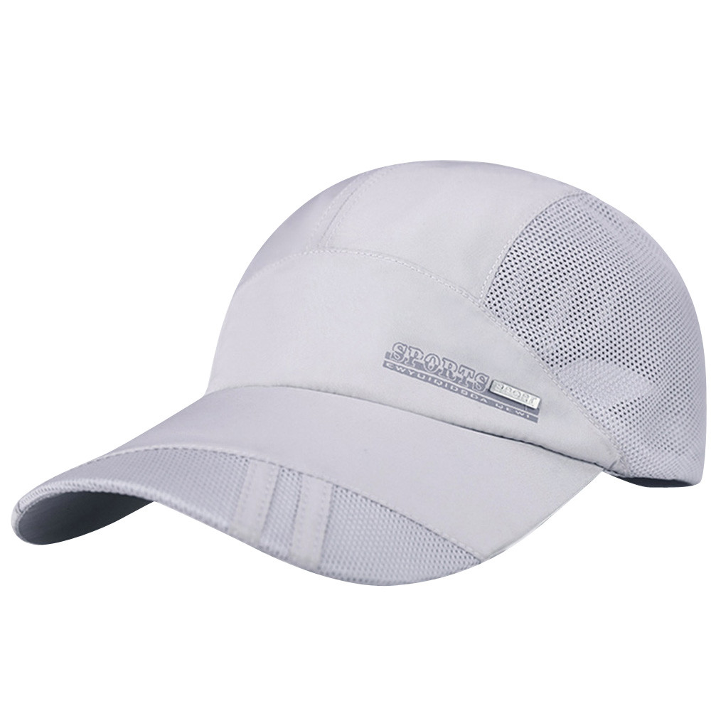 #5 DROPSHIP 2018 NEW Fashion Adult Mesh Hat Quick-Dry Collapsible Sun Hat Outdoor Sunscreen Baseball Cap Freeship