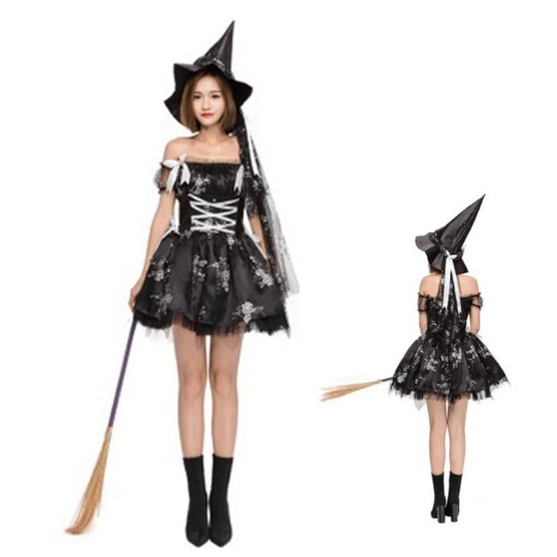 High Quality Black Woman Sorceress Cosplay Halloween Witch Costumes Female Magic Ebay