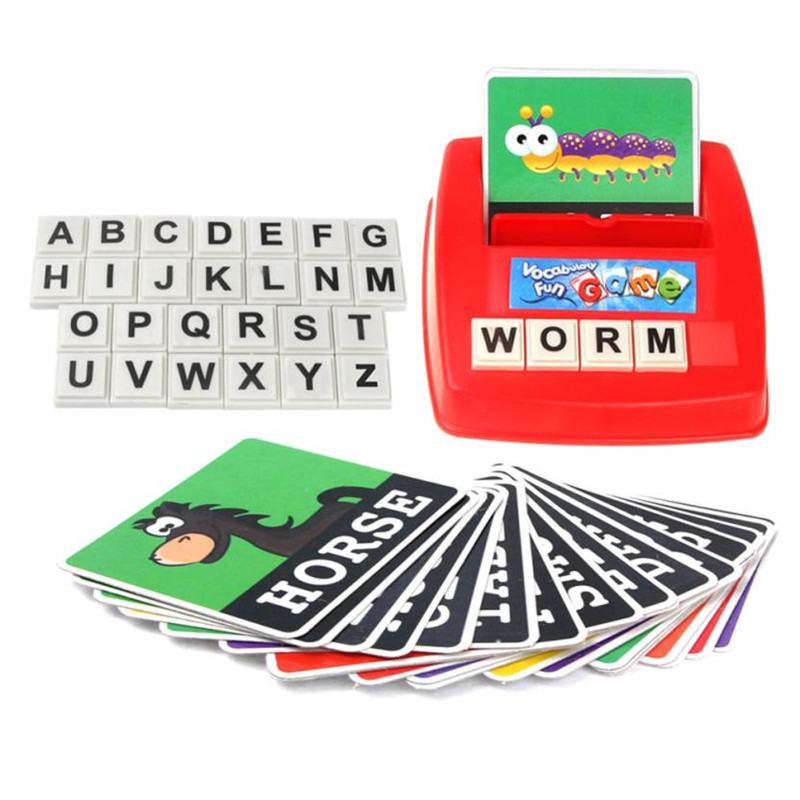 Alphabet Letter Word Spelling Game For Kids Preschooler Educational Learning Machines Hobbies English Language Teaching Puzzle30