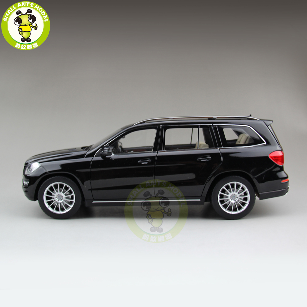 1/18 GL GLS 500 X166 Class Klasse Diecast Metal Car SUV Model Toys Boy Girl Birthday Gift Collection Hobby