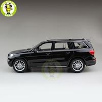 1/18 GL GLS 500X166 класс Klasse литья под давлением металлический автомобиль внедорожник модель игрушки для мальчиков и девочек подарок на день рожде