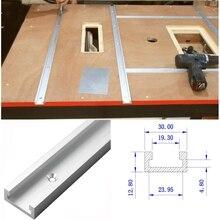 1 шт. 800 мм Т-треки алюминиевый паз направляющая для резки джиг приспособление для фрезерного стола ленточные пилы деревообрабатывающий инструмент