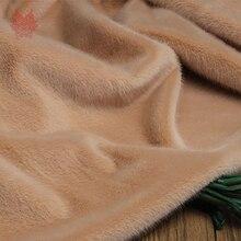 Однотонный мохнатый разноцветный 1 см Искусственный плюш искусственный мех Ткань для костюмов косплей фотографии фоны реквизит fourrure SP5788