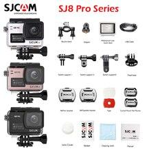 SJCAM SJ8 PRO Action Camera 4K/60FPS WiFi with 170 Degree Wide Angle EIS 8X Digital Zoom Waterproof Camera Bare-metal Version