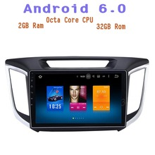 Android 6.0 Octa base De Voiture radio gps pour Hyundai IX25 creta avec 2g ram 4G wifi usb Stéréo Auto Radio multimédia Stère