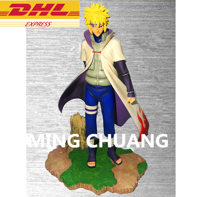 Statue NARUTO Hokage Namikaze Minato GK Naruto's Father Bust Disciple Of Jiraiya Resin Action Figure Collectible Model Toy W120