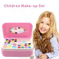 Children Pretend Play Beauty Fashion Toy Water soluble Cosmetics Set Safe Non toxic Nail Polish Makeup Princess Play House Toys