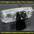 CCD night vision with 4 LED lamps Car Rear View Reverse Camera FOR SUBARU Outback Impreza Forester Car