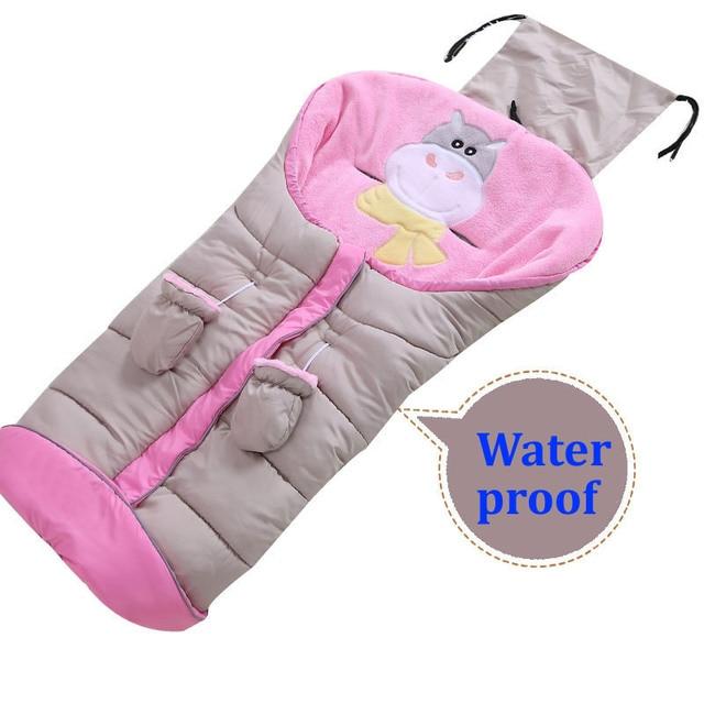 Spring Winter Baby Sleepsack Newborn Baby Stroller Sleeping Bag
