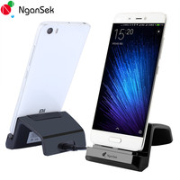 Ngansek Charger Dock For Xiomi 4c Letv USB C Type Dock Charger Data Station Desktop Docking Micro USB C Cable Android Xiomi 5