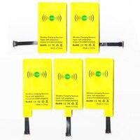Ldh新しいユニバーサルqiワイヤレス充電レシーバー用すべてアンドロイド電話マイクロusb充電アダプタ