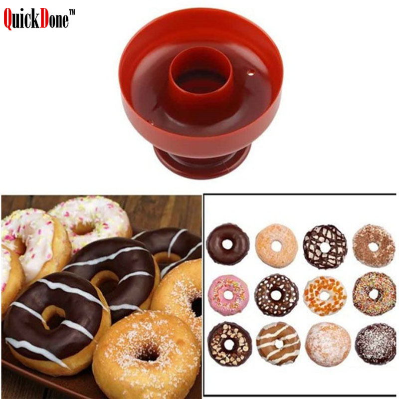 QuickDone Plastic Light Weight Donut Maker Dispenser Arabic Waffles Cup Maker Deep Fry Easy Fast Portable Doughnut Mould AKC6311|Waffle Molds| |  - title=