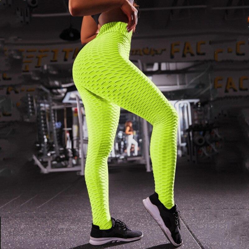 Solid color Sexy Women Leggings Pants Push Up gymshark legins trousers  slim Fitness Skinny leging Joggers High Waist  leggins