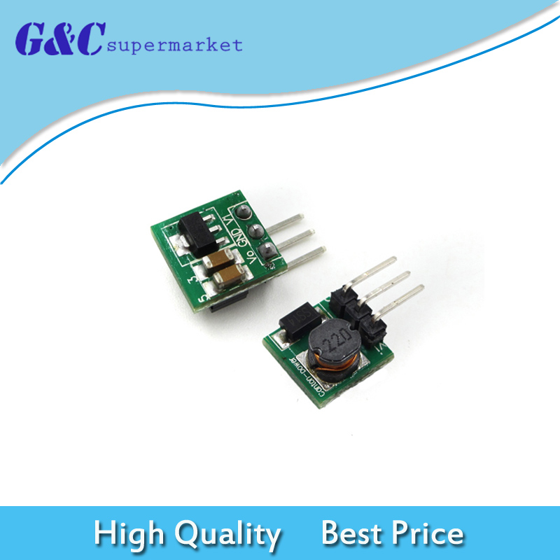 DC-DC 0.8-3.3V to 3.3V Step Up Boost Power Module For Arduino Voltage Converter Mini Module