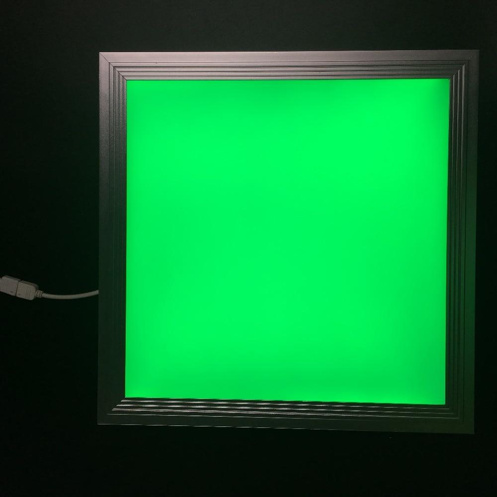 cor rgb conduziu a luz do painel