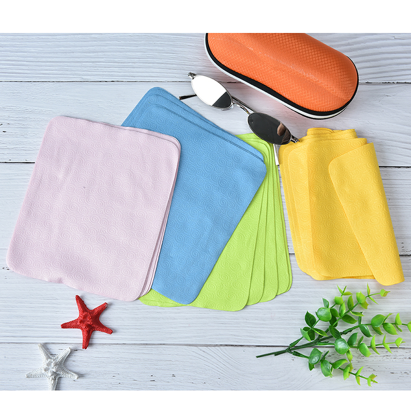 5pcs Cleaner Clean Glasses Lens Cloth Wipes 17*15cm For Sunglasses Microfiber Eyeglass Cleaning Cloth For Mac Camera Computer
