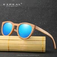 2017 NEW Bamboo Wooden Sunglasses Brand Style Glasses Mirror Lens Polarized Du Wood Sunglasses Men Fashion