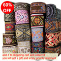 5yards/lot National computer embroidered webbing DIY handmad sewing ribbon Carpet decorative edge Upholstered benches accessory