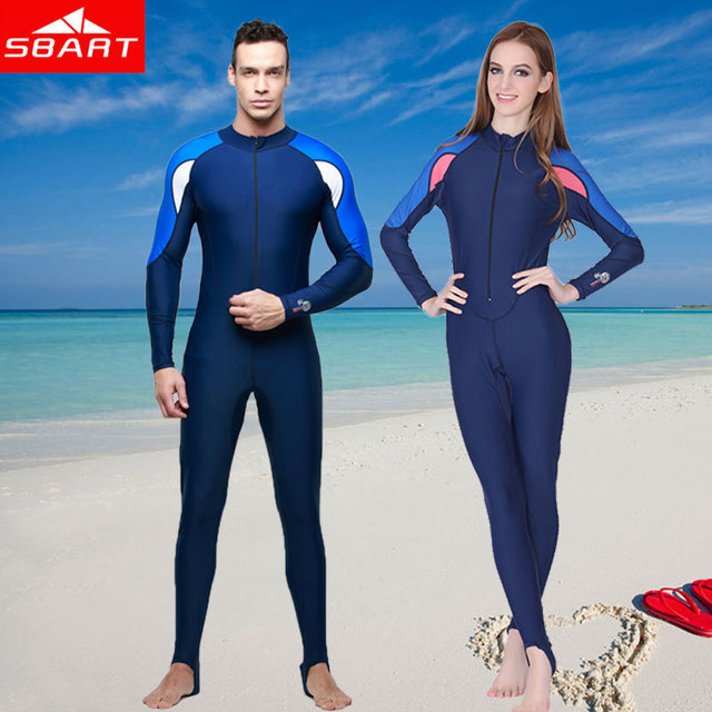SBART Diving Suit Upf50+ Long Sleeve Lycra Wetsuit Full Body Swimwear Swim  Triathlon Suit Jellyfish Diving Skin Surfing Wetsuits eee3a00b4